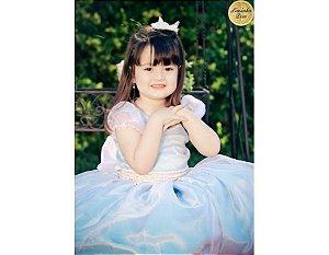Vestido para Festa da Cinderela - Infantil