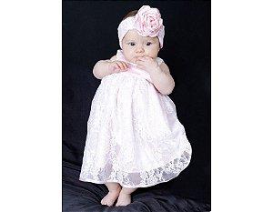 Vestido Branco - Bebês