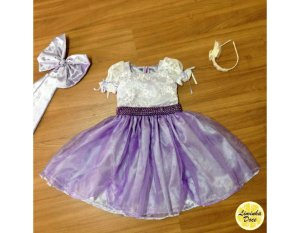 Vestido de Luxo Princesa Sofia - Infantil