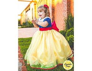 Vestido de Luxo da Branca de Neve - Infantil