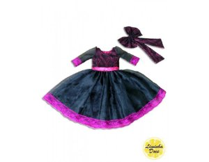 Vestido de Formatura Preto - Infantil