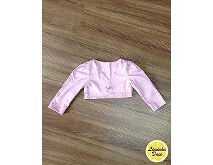 Bolero Rosa - Infantil