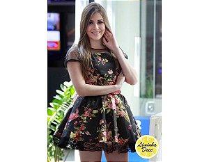 Vestido de Festa Floral - Teen