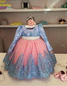 Vestido de Festa Bailarina Provençal - Infantil
