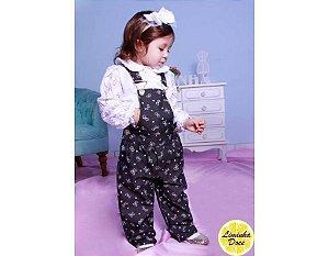 Macacão Jeans e Blusinha - Infantil