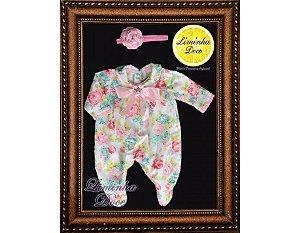 Conjunto Saída de Maternidade Floral - Bebês