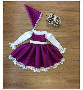 Vestido Masha e o Urso - Alta Costura Infantil