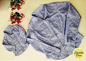 Jaqueta Jeans Azul - Tal Mãe Tal Filha