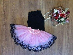 Conjunto de Blusinha Preta para Bailarina - Infantil