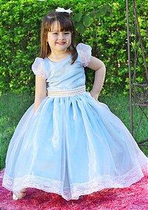 Vestido Elegante para Daminha - Infantil