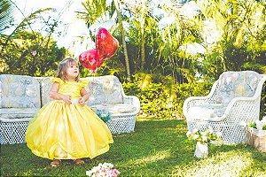 Vestido de Daminha Amarelo - Infantil