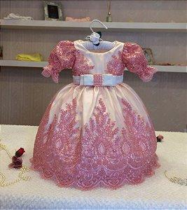 Vestido Daminha de Aliança - Infantil