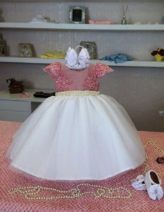 Vestido de Formatura do Maternal - Infantil