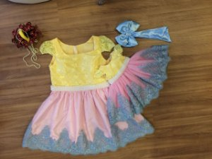 Vestido para o Tema Festa do Circo - Mãe e Filha