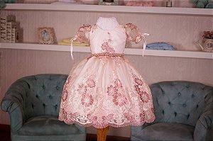 Vestido Tema Florestas da Corujas - Infantil