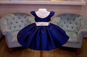 Vestido de Formatura Azul para Meninas