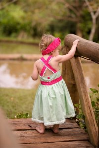 Vestido Xadrez - Infantil