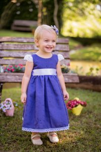 Vestido Azul - Infantil