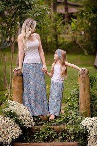 Saia Longa Mãe e Filha