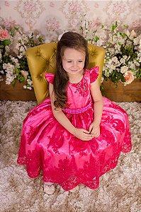 Vestido Luxo Pink - Infantil