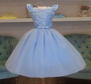 Vestido Azul Claro para festa - infantil