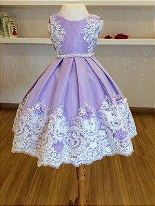 Vestido Tema Princesa Sofia - Infantil