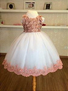 Vestido do Tema Boho Chic - Infantil
