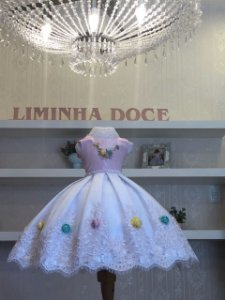 Vestido de Daminha Casamento no Campo- Infantil