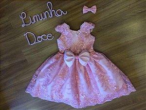 Vestido para Daminha Liminha Doce - Infantil