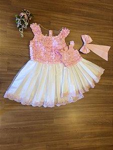 Vestido Tema Chuva de Bençao - Mãe e Filha
