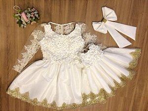 Vestido de Noiva Curto Mae e Filha - Mae e Filha