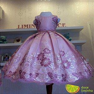 Vestido de Daminha Honra Liminha Doce - Infantil