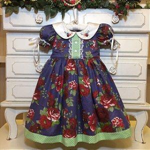 Vestido Fofura da Vovo Maria - Infantil