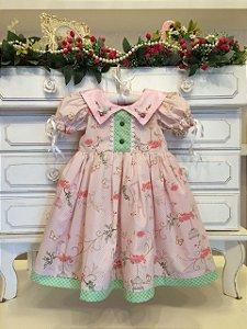 Vestido Fofura da Vovo Cecilia- Infantil