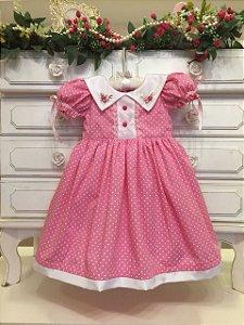 Vestido Fofura da Vovo Aparecida - Infantil