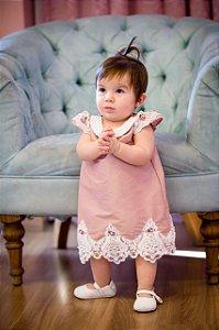 Vestido de Festa Trapesio - Infantil