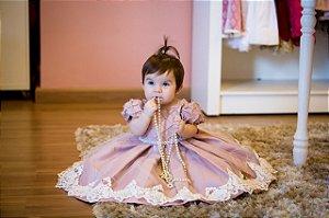 Vestido de Festa Um Aninho - Infantil