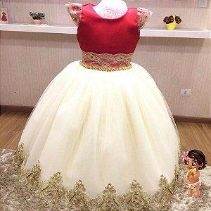 Vestido de Festa Tema Moana Baby- Infantil