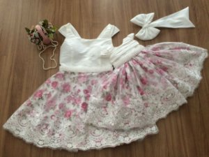 Vestido Mae e Filha Floral Pink - Mãe e Filha