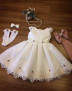 Vestido Personalizado para Daminhas - Infantil