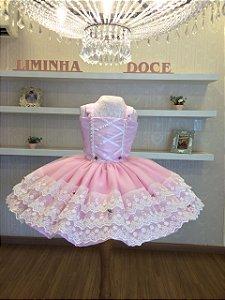 Vestido de Festa  Lol Bailarina -Infantil
