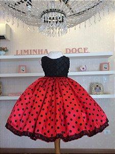 Vestido de Festa LadyBug-Infantil