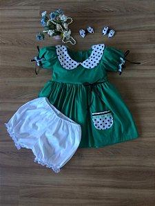Vestido da Chiquinha -Vestido Infantil