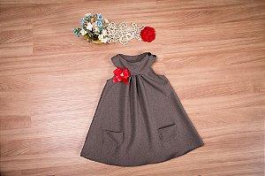 Vestido Trapézio lanzinha  - Infantil