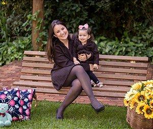 Sobre Tudo Lanzinha Marrom - Mãe e Filha