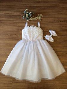 Vestido Daminha -Daminhas de honra