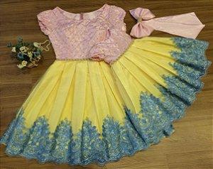 Vestido de Festa Chuva de Amor - Mãe e Filha