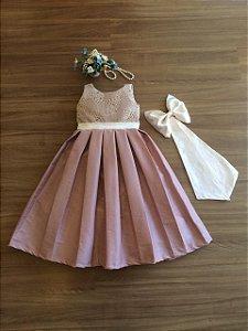 Vestido de Daminha-daminhas de honra