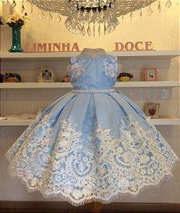 Vestido de Jardim Encantado -vestidos de festa infantil