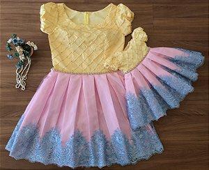 Vestido de Festa Chuva de Amor -look tal mãe tal filha